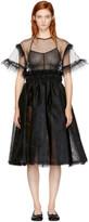 Noir Kei Ninomiya Black Tulle Dress