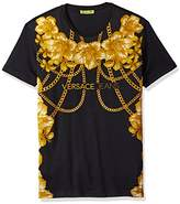 Versace Jeans Men's Gold Chain T-Shirt