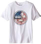 Vans Kids Dual Palm Logo Fill T-Shirt (Big Kids)