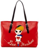 Love Moschino Girl Patch Tote