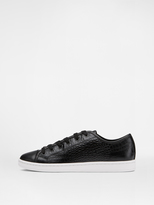 DKNY Baylee Croc-Embossed Sneaker