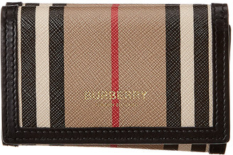 Burberry Leather French Wallet