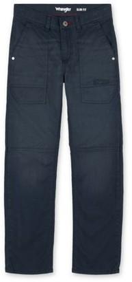 Wrangler Boys Utility Slim Straight Pants, Sizes 4-16 & Husky