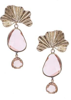 Nakamol Chicago Crystal Drop Earrings