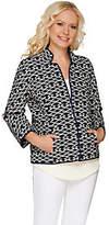 C. Wonder Brocade Jacket with BraceletSleeves