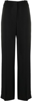 Theory High Waisted Flared Trousers