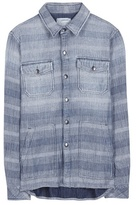 Current/Elliott The Patch Pocket Workman Cotton Shirt