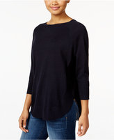 Style&Co. Style & Co. Petite Boat-Neck Sweater, Only at Macy's