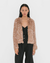 Ulla Johnson Iris Rabbit Jacket