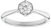 Enchanted 9ct White Gold 0.50ct Diamond Solitaire Ring