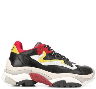 Ash Addict colour blocked sneakers