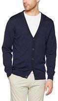 Gant Men's Fine Merino Wool Cardigan,L