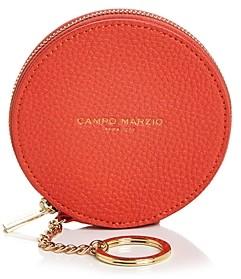 Campo Marzio Leather Coin Purse Keychain