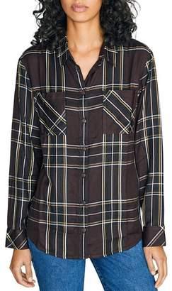 Sanctuary New Generation Plaid Boyfriend Shirt