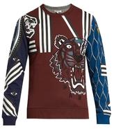 Kenzo Multi Icons Cotton-jersey Sweatshirt