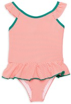 KensieGirl Little Girl's Striped One-Piece Swimsuit
