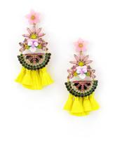 Elizabeth Cole Petite Watermelon Earrings