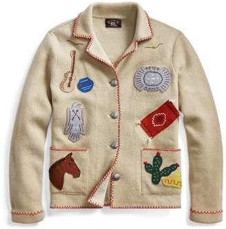 Ralph Lauren Western-Motif Jumper Jacket