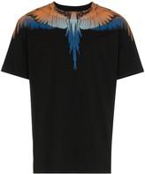 Marcelo Burlon County of Milan wings short sleeve cotton T-shirt