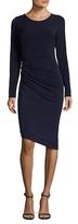 Rachel Roy Ruched Embellishment Sheath Dress