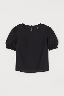 H&M Broderie anglaise blouse
