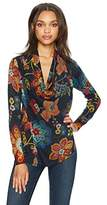 Desigual Women's Celia Woman Flat Knitted Thin Gauge Jacket, Marine, XS