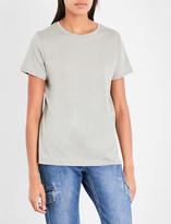Vince Round-neck cotton-jersey T-shirt