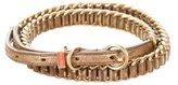Miu Miu Metallic Chain-Link Belt