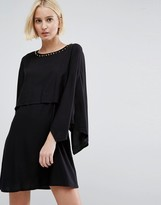 Vero Moda 3/4 Sleeve Kimono Dress