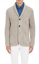 Brunello Cucinelli MEN'S SHAWL-COLLAR SWEATER JACKET