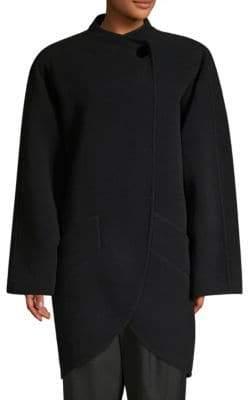 Marc Jacobs Wool-Blend Cocoon Coat