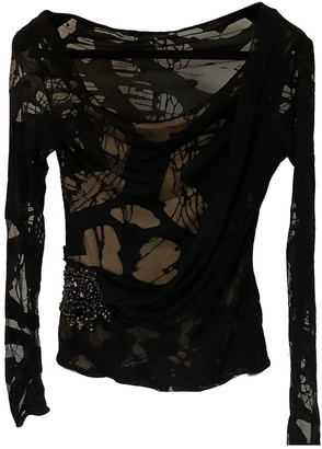 Christian Lacroix Black Polyester Tops