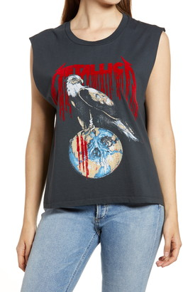 Daydreamer Metallica Eagle Rocker Muscle Graphic Tee