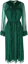 No.21 pleated frill dress