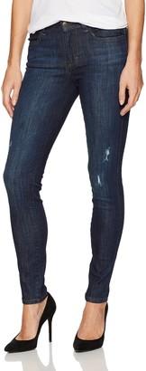 Siwy Women's Lynette Mid Rise Skinny Jeans in One Way 27