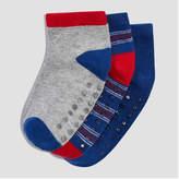 Joe Fresh Toddler Boys' 3 Pack Jack Low Cut Socks