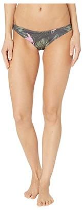 Hurley Reversible Lanai Mod Surf Bottoms (Anthracite) Women's Swimwear