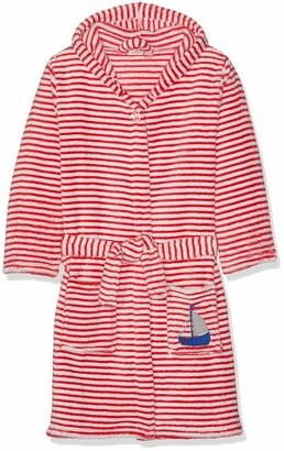 Playshoes Boys' Fleece-Bademantel Ringel AHOI Dressing Gown