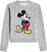 Marc Jacobs Cotton Sweatshirt with Sequin Embellishment