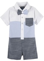 Andy & Evan Infant Boy's Colorblock Romper
