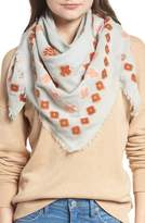 Madewell Madwell Clover Grid Square Scarf