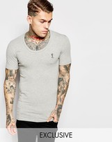 Religion Muscle Fit T-shirt - Grey
