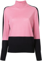 ASTRAET colour block jumper