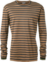 Lanvin striped t-shirt - men - Cotton - S