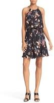 Joie Makana Floral Silk Blouson Dress