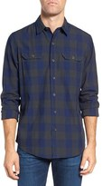 Tailor Vintage Men's Regular Fit Buffalo Check Sport Shirt