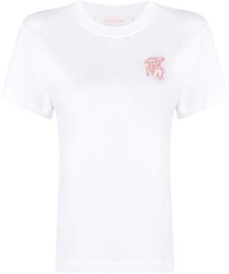 Rag & Bone logo print short-sleeved T-shirt