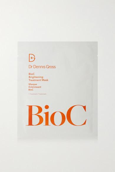 Dr. Dennis Gross Skincare Set Of 8 Bioc Brightening Treatment Mask - Colorless