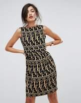 Love Moschino Heart Anagram Shift Dress