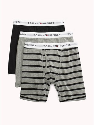 Tommy Hilfiger Cotton Classics Stripe Boxer Brief 3PK